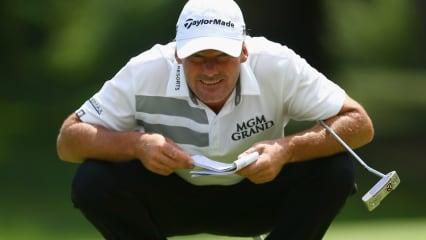 Alex Cejka ist wegen eines nicht-regelkonformen Green Books von der Honda Classic 2019 der PGA Tour disqualifiziert worden. (Foto: Getty)