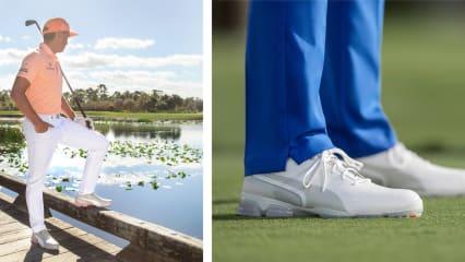 Rickie Fowler hat beim Design des neuen Puma Ignite Proadapt Schuhs tatkräftig mitgeholfen. (Foto: Puma)