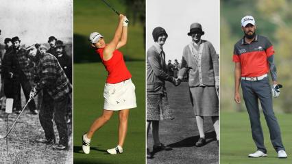 Die Golfbekleidung hat sich in den vergangenen 160 Jahren enorm gewandelt und Galvin Green gilt heute als Pionier. (Fotos: Getty)