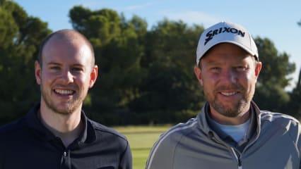 Fabian Bünker(rechts) und sein Partner Niko Osenberg(links) von