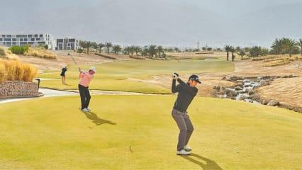 Herren, Senioren und Damen starten bei der Jordan Mixed Open, wie im Bild, von unterschiedlichen Teeboxen. (Foto: www.nationalclubgolfer.com)