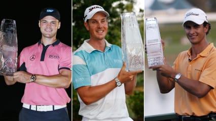 Martin Kaymer, Henrik Stenson und Adam Scott gehen bei der Players Championship 2019 gemeinsam in die ersten beiden Runden. (Foto: Getty)