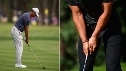 Vor allem bei Griff und Stand tun sich Golfanfänger schwer. (Foto: Getty)