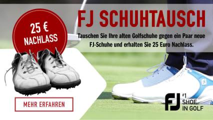 FootJoy Schuhtauschaktion - aus Alt mach Neu