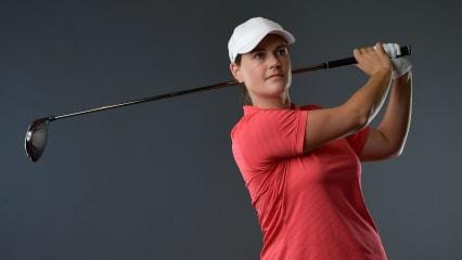 Caroline Masson beim ersten Major der Saison auf der LPGA Tour. (Foto: Getty)