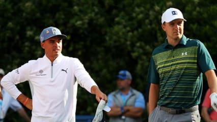 Rickie Fowler und Jordan Spieth jagen die Spitze bei der Valero Texas Open der PGA Tour. (Foto: Getty)