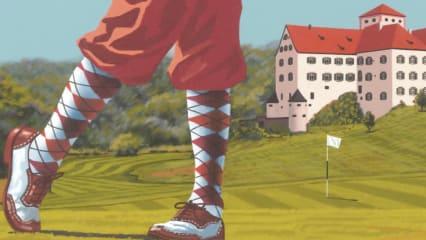 Die Johnnie Walker Hickory Golf Classic im GCC Schloss Langenstein. (Bildquelle: GCC Schloss Langenstein)