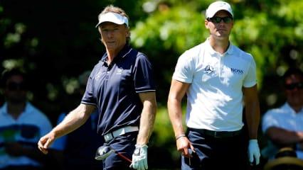 Martin Kaymer und Bernhard Langer beenden das US Masters 2019 mit gemischten Gefühlen. (Foto: Getty)