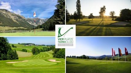 Vierplätzetournee - das neue Golf Event im Allgäu