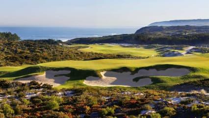 Der malerische West Cliff Golf Links bietet einen unvergleichlichen Blick auf den Atlantik (Foto: West Cliff Golf Links)