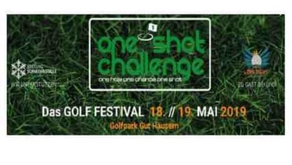 Die One Shot Challenge vom 18.5 & 19.5.2019 im Golpark Gut Häusern. (Bildquelle: Münchener Golf Eschenried)