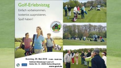 Der GC Oldenburger Land lädt am 5. Mai 2019 zum Golferlebnistga 2019. Einfach vorbeischauen! (Bildquelle: GC Oldenburger Land)