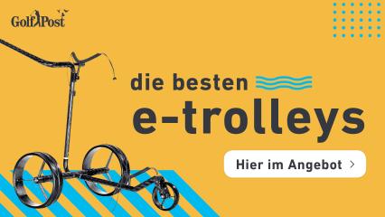 Die besten E-Trolleys jetzt im Angebot sichern. (Foto: Golf Post)