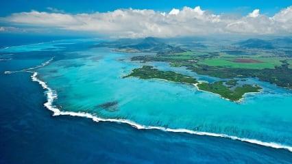 Golfurlaub auf Mauritius bietet eine wunderschöne Landschaft. (Foto: Ile aux Cerfs Golf Club)