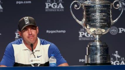 Brooks Koepka nach seinem Triumph bei der PGA Championship 2019. (Foto: Getty)