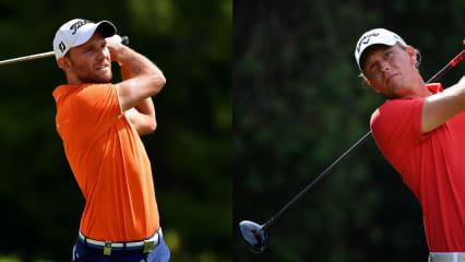 Max Kieffer und Marcel Siem starten morgens ins Belgian Knockout der European Tour. (Foto: Getty)