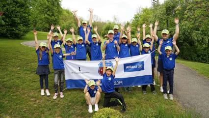 """Golf-Club Schloss Klingenburg: Lucky33 macht die Golfjugend """"Glücklich"""""""
