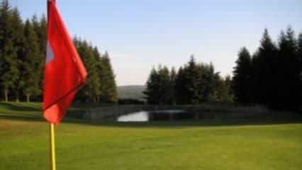 """Dauerregen war Tagesprogramm im Attighof GC, lediglich 35 tapfere Turnierteilnehmer haben die Runde """"leicht nass"""" beendet. (Bild: Attighof GC)"""