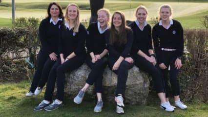 Die Damenmannschaft des Golf- und Land Club Köln. (Bildquelle: GLC Köln)
