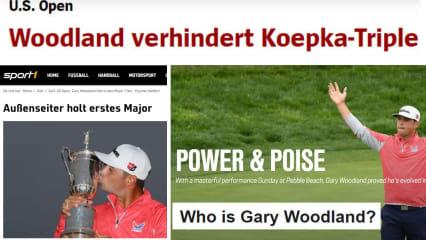 Koepka-Bezwinger: Gary Woodlands Sieg bei der US Open 2019 in der Presse