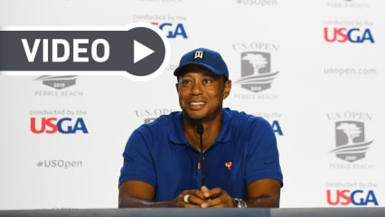Tiger Woods vor der US Open 2019. (Foto: Getty)