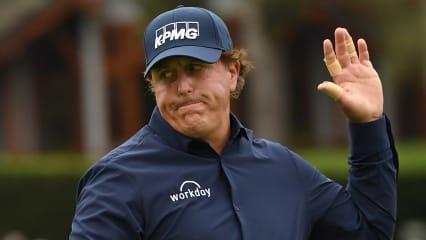 """Phil Mickelson dämmert's: """"Das mit der US Open wird wohl nichts mehr"""""""