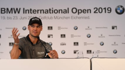 Martin Kaymer vor der BMW International Open 2019. (Foto: Getty)