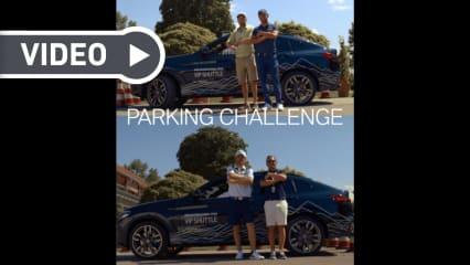 Maximillian Kieffer und Bernd Wiesberger stellen sich der Parking Challenge. (Foto: Getty)