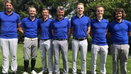 Die Herrenmannschaft der Golfanlage Hohenpähl. (Bild: Golfanlage Hohenpähl)
