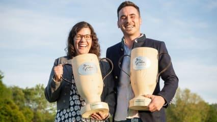 Die Sieger der Grünland-Masters 2019 im GC Starnberg. (Bild: Foto: Stefan Heigl)