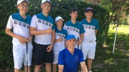 Jungen-AK 16-Team qualifiziert für Regionalfinale DMM. (Bild: Golfpark Weißenhof)