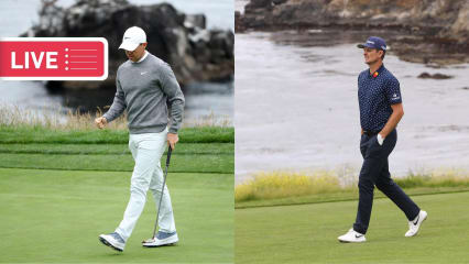US Open 2019 LIVE: Rory McIlroy und Justin Rose in Pebble Beach