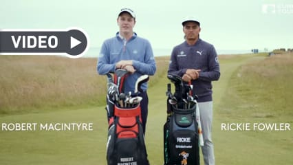 Robert MacIntyre gegen Rickie Fowler heißt es bei der British-Open-Edition der 14 Club Challenge. (Foto: Screenshot YouTube)