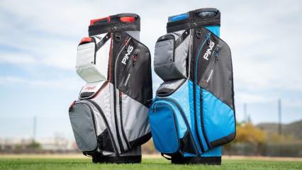 Mit einem Ping Cart Bag sind sie bestens ausgerüstet. (Foto: Ping)