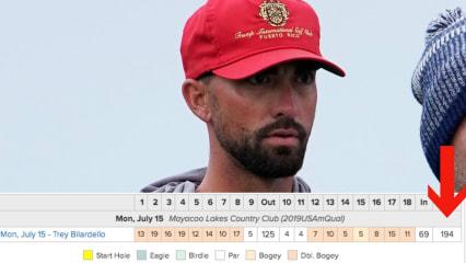 PGA-Tour-Caddie nach 202 bei Amateurturnier disqualifiziert