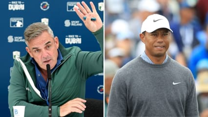Paul McGinley äußert sich zur Open-Vorbereitung von Tiger Woods. (Foto: Getty)