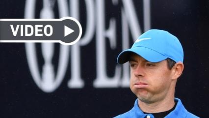 Video: Rory McIlroys katastrophaler Auftakt in die British Open 2019