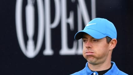 Rory McIlroy versagten bereits an der ersten Bahn der British Open 2019 die Nerven. (Foto: Getty)