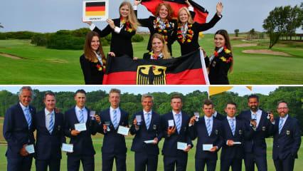 Die deutschen Teams haben bei den Europameisterschaften klasse Leistungen gezeigt. (Fotos: EGA und DGV/stebl)