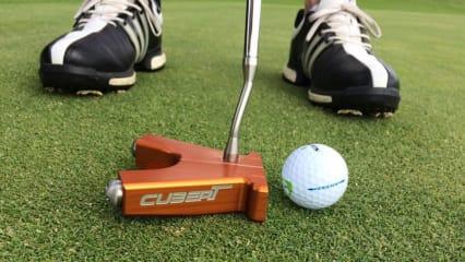 Der aktuelle Cubert Putter unterzog sich den prüfenden Augen unserer Tester. (Foto: Manuela Kappen)