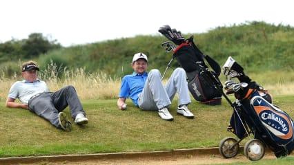 Golf - Eine Wunderwaffe gegen Stress. (Foto: Getty)
