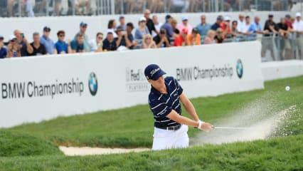 Bei den FedExCup-Playoffs der PGA Tour übernimmt Justin Thomas die Spitze bei der BMW Championship 2019. (Foto: Getty)
