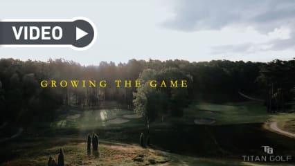 Die Jungs von Titan Golf gehen mit einer neuen Kampagne an den Start und wollen den Golfsport endlich mal wieder voranbringen. (Foto: Titan Golf)