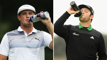 Auch die Spieler der PGA Tour legen großen Wert auf den richtigen Flüssigkeitshaushalt. (Foto: Getty)
