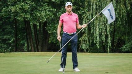 Maximilian Kieffer im exklusiven Interview mit Golf Post. (Foto: Allianz / Tobias Kuberski)