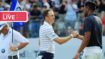 PGA Tour LIVE: Justin Thomas vor seinem zehnten Sieg