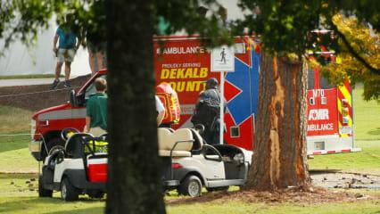 Zuschauer bei Tour Championship nach Blitzeinschlägen verletzt