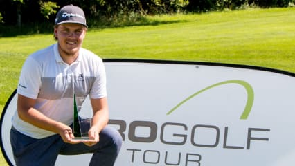 Sami Välimäki hat seinen zweiten Saisonsieg auf der Pro Golf Tour einfahren können. (Foto: Pro Golf Tour)