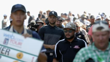 Basketball-Superstar Stephen Curry fördert den Golfsport
