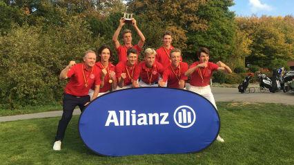 Die Sieger der bis 16-jährigen Jungen 2018 vom Hamburger GC. (Foto: LangerSportsmarketing)